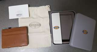 Fossil Mason Magic Wallet 銀包