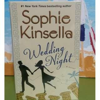 The Wedding Night Sophie Kinsella Hardcover Like New