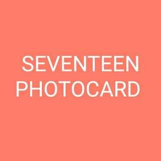WTT/WTS/WTB SEVENTEEN SCOUPS PHOTOCARD
