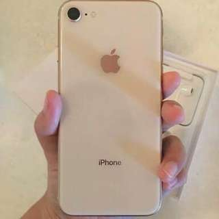 IPhone 8 64GB GOLD New Cash Or Kredit Tanpa CC