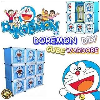 Doraemon DIY Cube Wardrobe