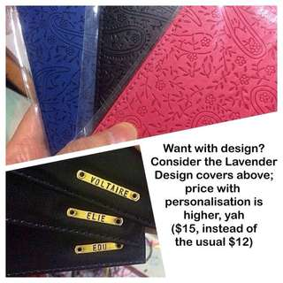 Personalised Passport Covers / Holders [faux leather customised gifts presents handmade uncle.anthony uncle anthony uac] FOR MORE PICS & DETAILS, GO HERE: 👉  http://carousell.com/p/151158092