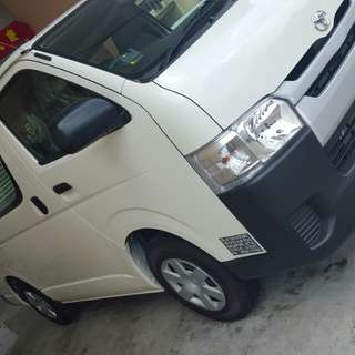 Toyota Hiace Euro 6 & Nissan NV350 available for rent