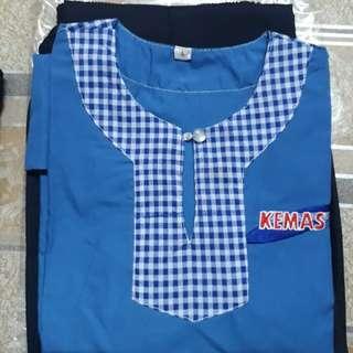 Uniform tadika KEMAS