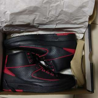 全新 Nike Air Jordan 2 Retro US10 有盒