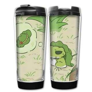 🚚 {天天隨時分享購}旅行青蛙不鏽鋼雙層保溫杯