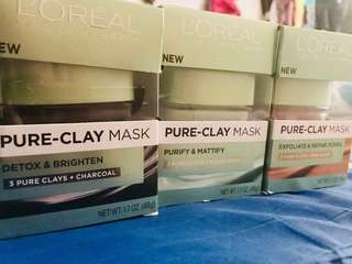Authentic Clay mask USA