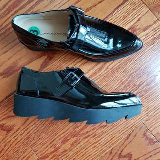 William Rast Patent Leather Shoes Size 8