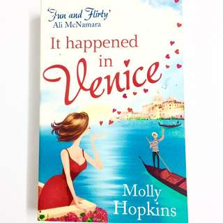 It Happened In Venice by Molly Hopkins (chicklit romance book)