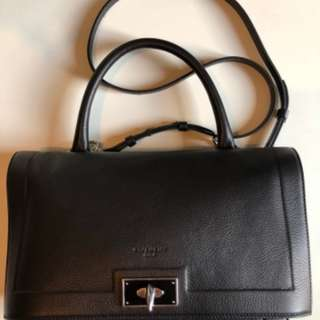 New black Givenchy shark bag