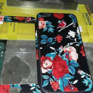 Phone case with tempered glass