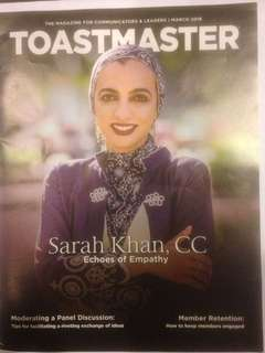 Toastmaster March 2018 issue (The magazine for Communicators & Leaders)