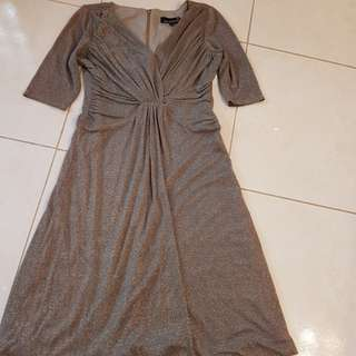 Laura Petite size 10 shimmer dress