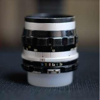 NIKKOR-S Auto 35mm 2.8