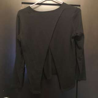 Aritzia Babaton Open Back Sweater