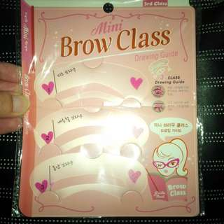 Mini Brow Class Drawing Guide/ Cetakan Alis