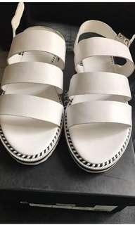 BNIB seed heritage leather sandals sz 41 rrp $129
