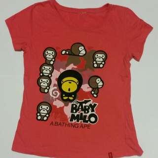Bathing Ape BAPE T-Shirt Size S/M