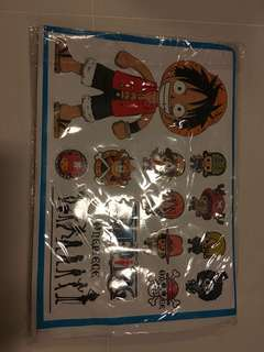 Boy School Sticker one piece