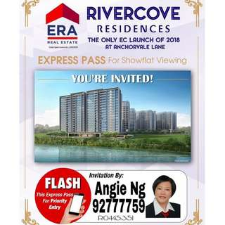 Rivercove Residences, D19 New EC Launch, Call Angie Ng 9277 7759 now