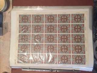 🚚 賣大量郵票。還狠多種