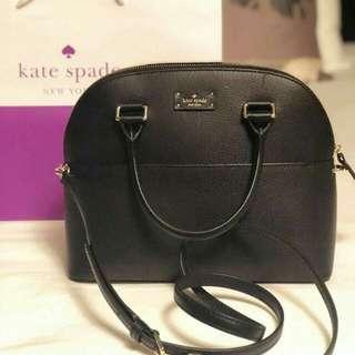Kate Spade Grove Street Carli Satchel in Black