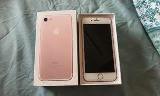 Rosegold iPhone 7 32gb