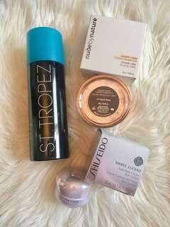 BRAND NEW St Tropez, Shiseido & Nude by Nature