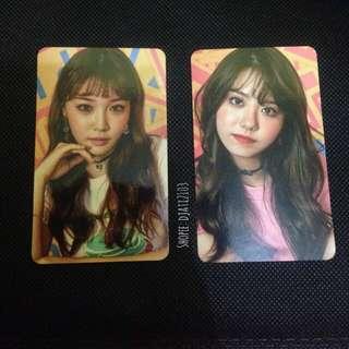 IOI Sohye & Chungha Photocard from Miss Me Album