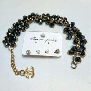 Bangkok bracelets/earrings
