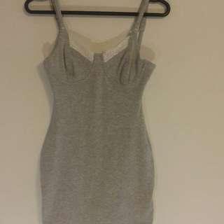 Vintage Bodycon Slip Dress
