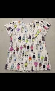 Mini dress for girls