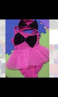 Tutu swim suit set for girls