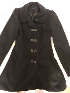 Tokito Black Winter Jacket Size 10 from Myer
