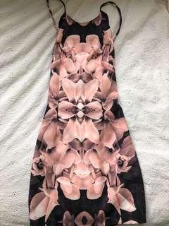 Princess Polly Pink Pattern Dress size 10