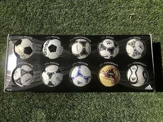 Adidas Official FIFA World Cup Mini Balls 1970-2006