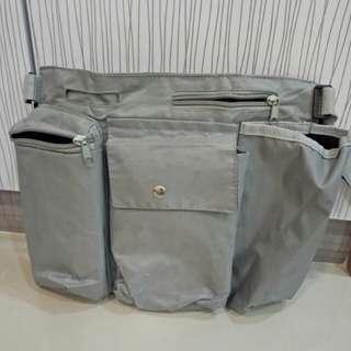 Hanging stroller bag