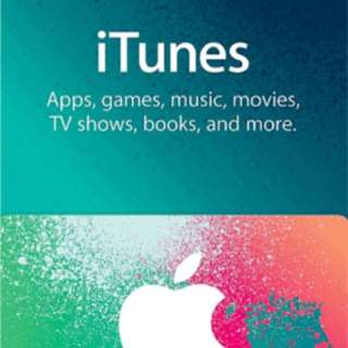 2 x $50 iTunes gift cards