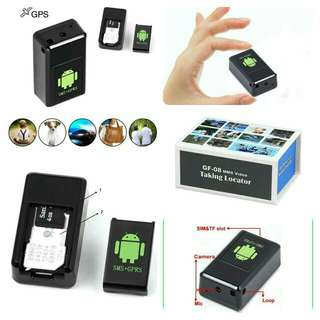 GF08 Mini GPS Tracker Car GSM GPRS GPS Locator with Mini Camera GSM Alarm Voice Video Recording DVR