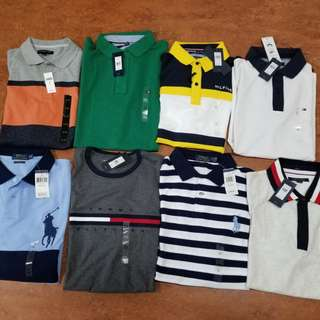 BNWT MEN POLO SHIRTS