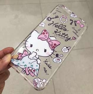 Sanrio Hello Kitty 閃石手機軟殼