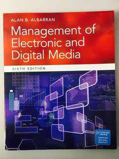 Management of Electronic and Digital Media (6th ed)