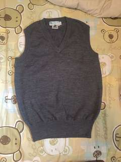 學生用 vest pure wool 男女合用9成新