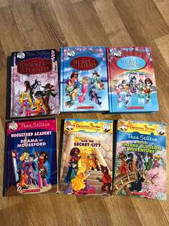 PL Thea Stilton Bundle - 6 books