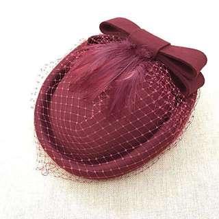 Ladies' Hat - Red / maroon