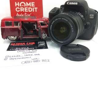 Kredit Kamera DSlR Canon 700D