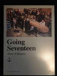 Seventeen 3rd Mini Album Going Seventeen Make it Happen Version