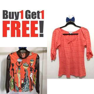 B1T1 Old Navy x Printed Top