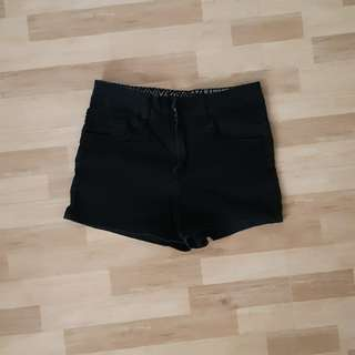 Forever 21 highwaist shorts black