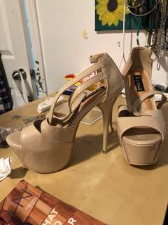Heels used once size6